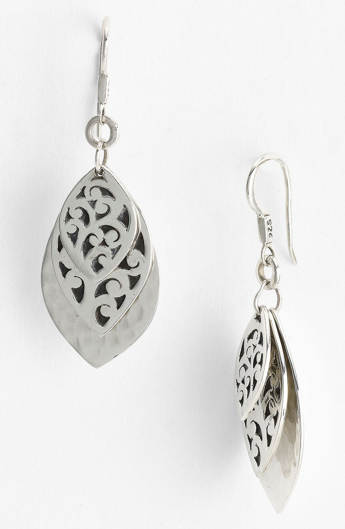 Alternate Image 1 Selected - Lois Hill Layered Petal Drop Earrings