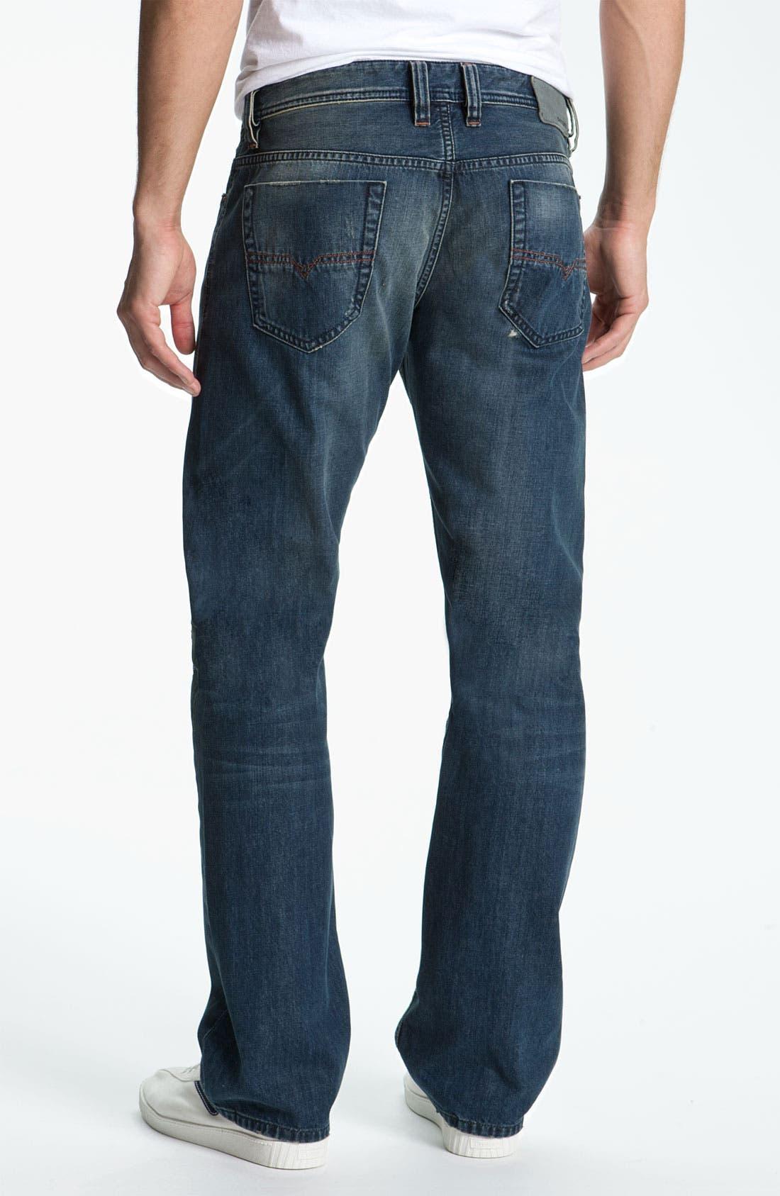 Alternate Image 1 Selected - DIESEL® 'Viker' Straight Leg Jeans (0803F)