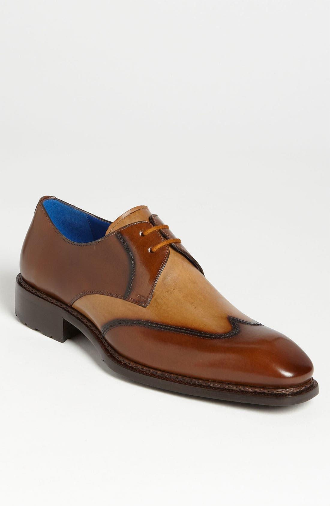 Main Image - Mezlan 'Luigi' Wingtip Spectator Shoe