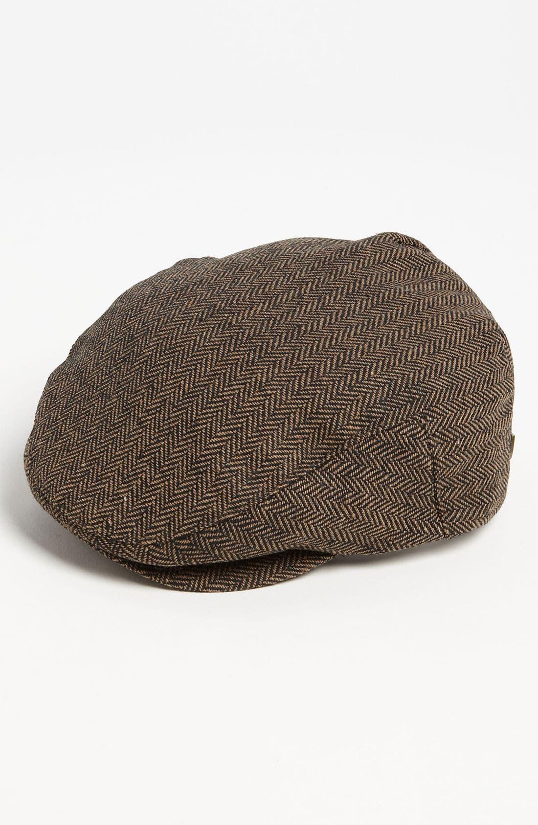 Hooligan Driving Cap,                         Main,                         color, Brown/ Khaki