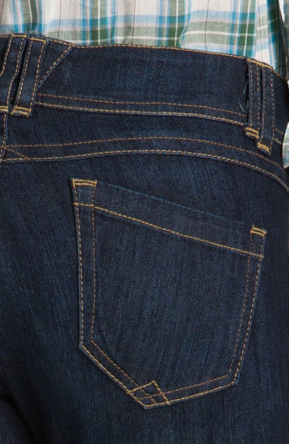 Alternate Image 3  - Wit & Wisdom Denim Leggings (Indigo Wash) (Nordstrom Exclusive)