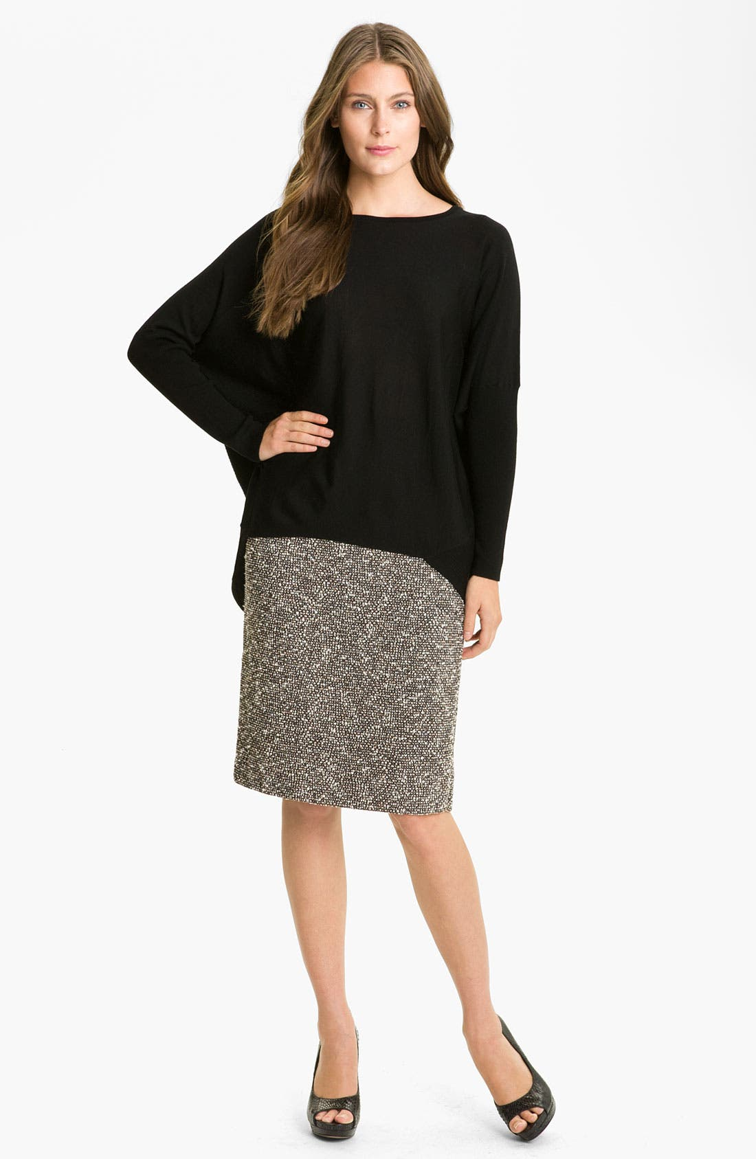Alternate Image 5  - Lafayette 148 New York 'Bijoux' Slim Tweed Skirt