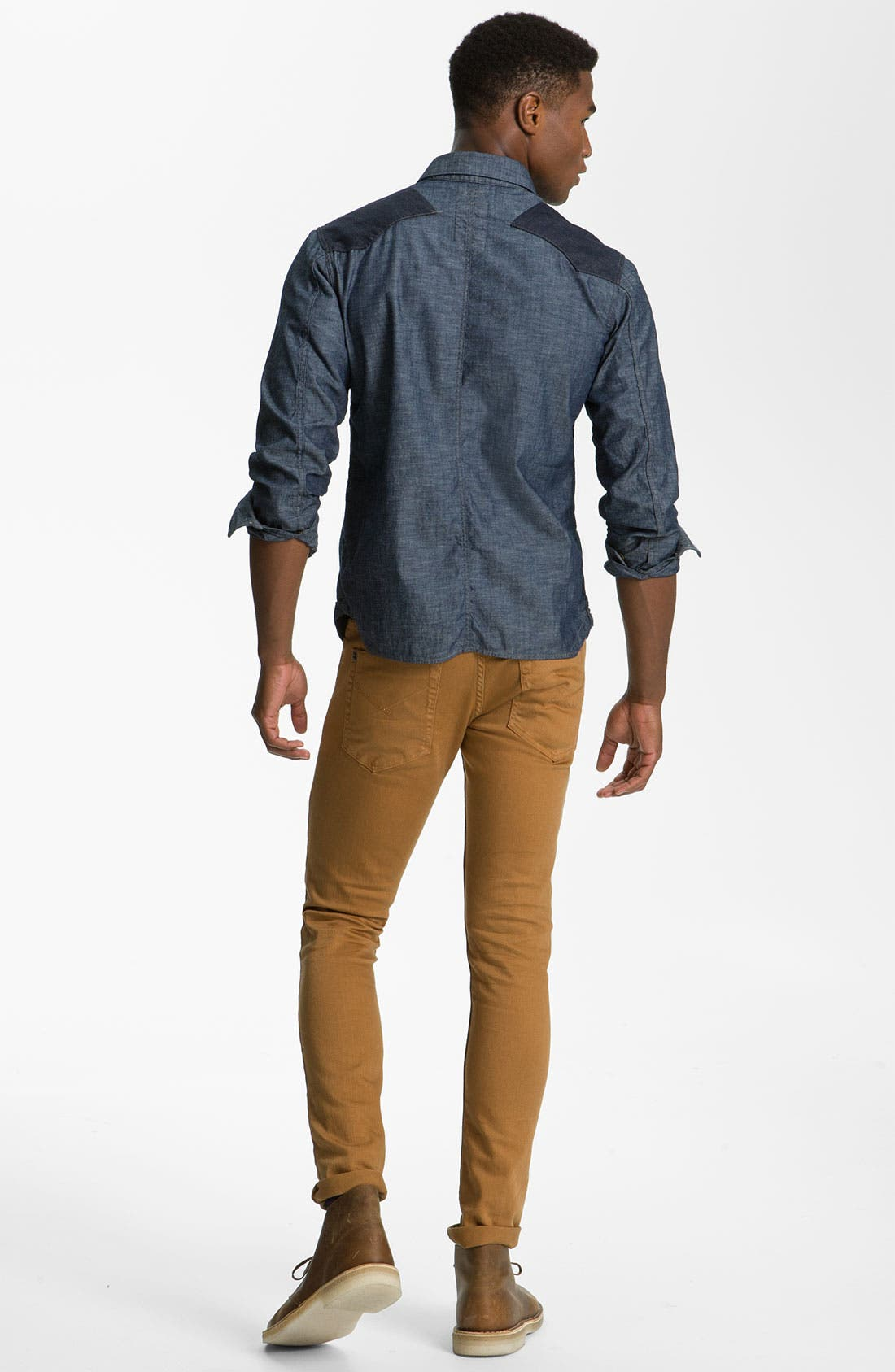 Alternate Image 6  - Insight 'City Riot' Slim Straight Leg Jeans (Digger)