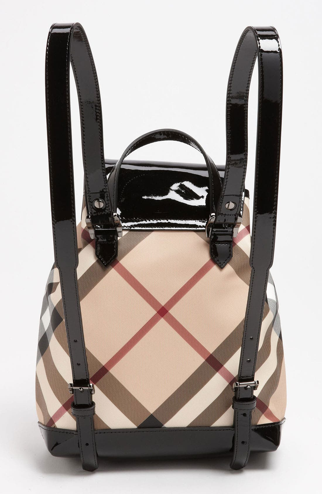 Alternate Image 4  - Burberry 'House Check' Backpack (Girls)