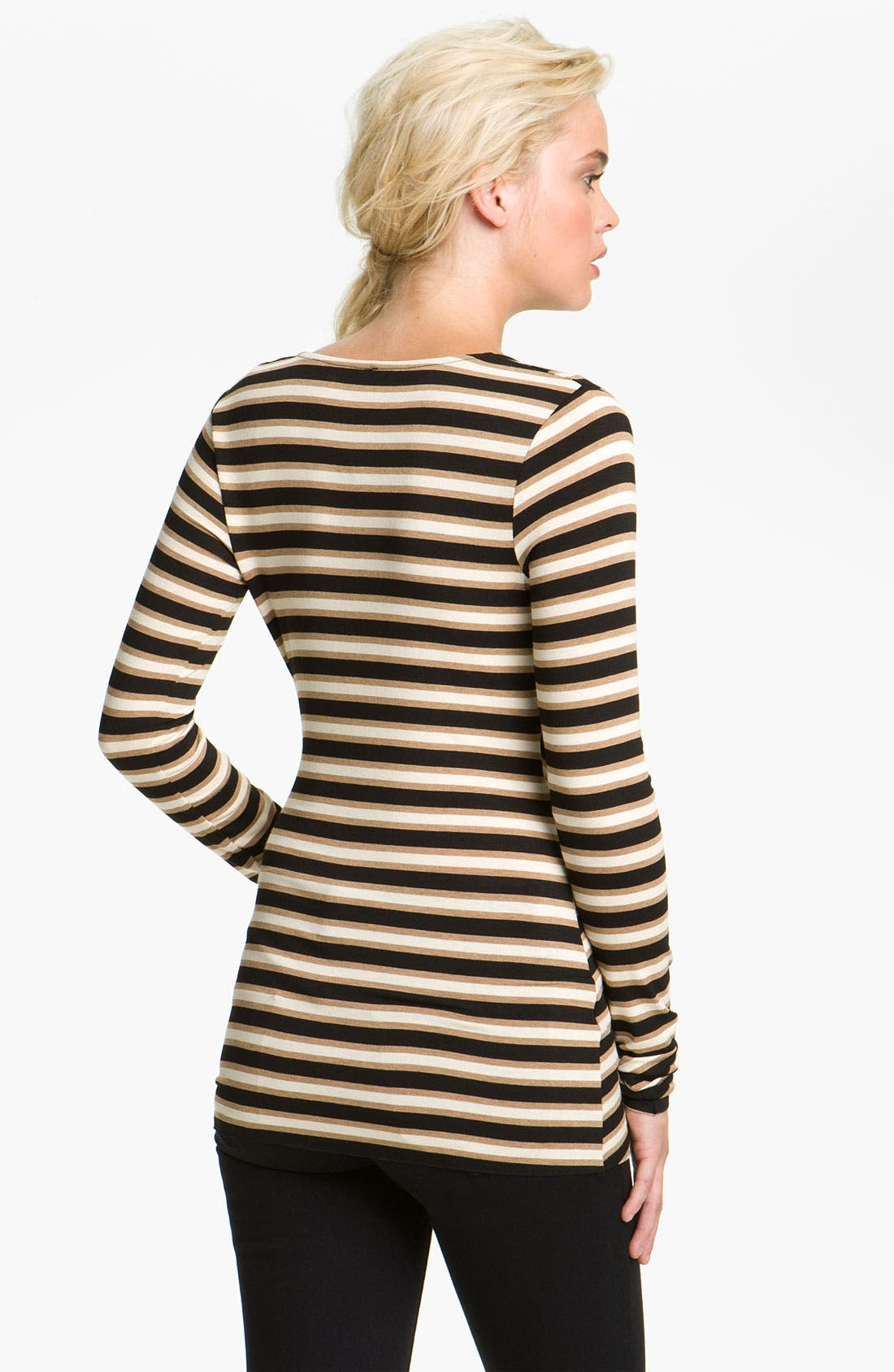 Alternate Image 2  - Bailey 44 'Princeton' Stripe Surplice Top