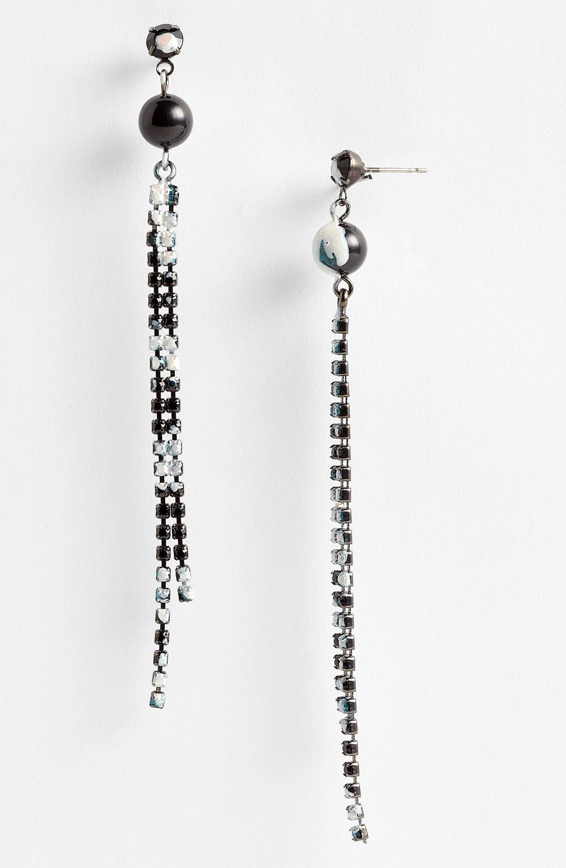Alternate Image 1 Selected - Tom Binns 'Veil of Shadows' Drop Earrings
