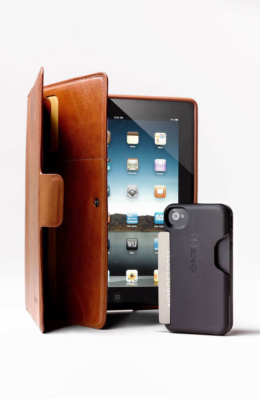 Alternate Image 2  - Speck 'Wanderfolio - Luxe' Leather iPad 3 Case