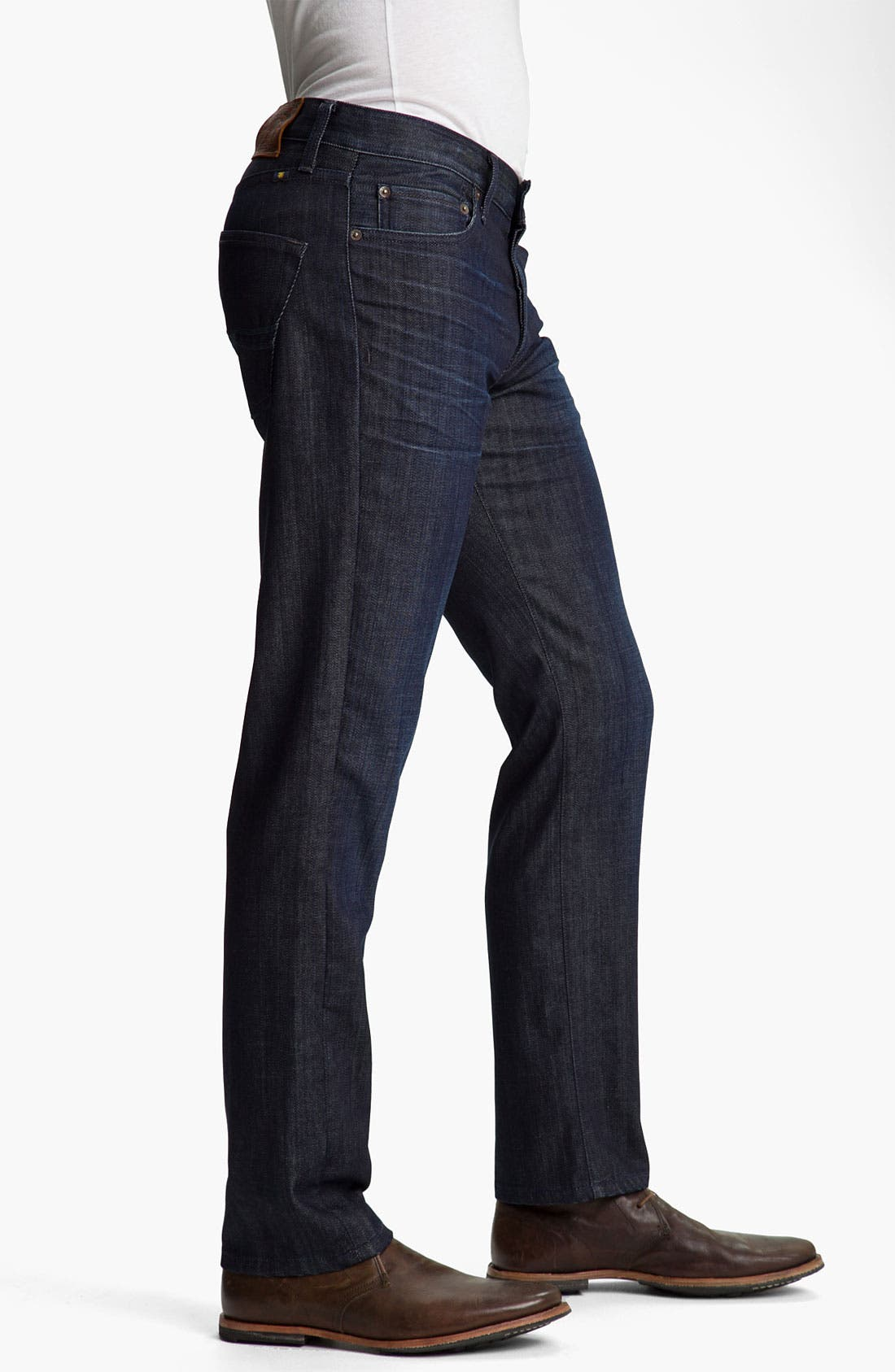 Alternate Image 3  - Lucky Brand '221 Original' Straight Leg Jeans (Dark Hickory)