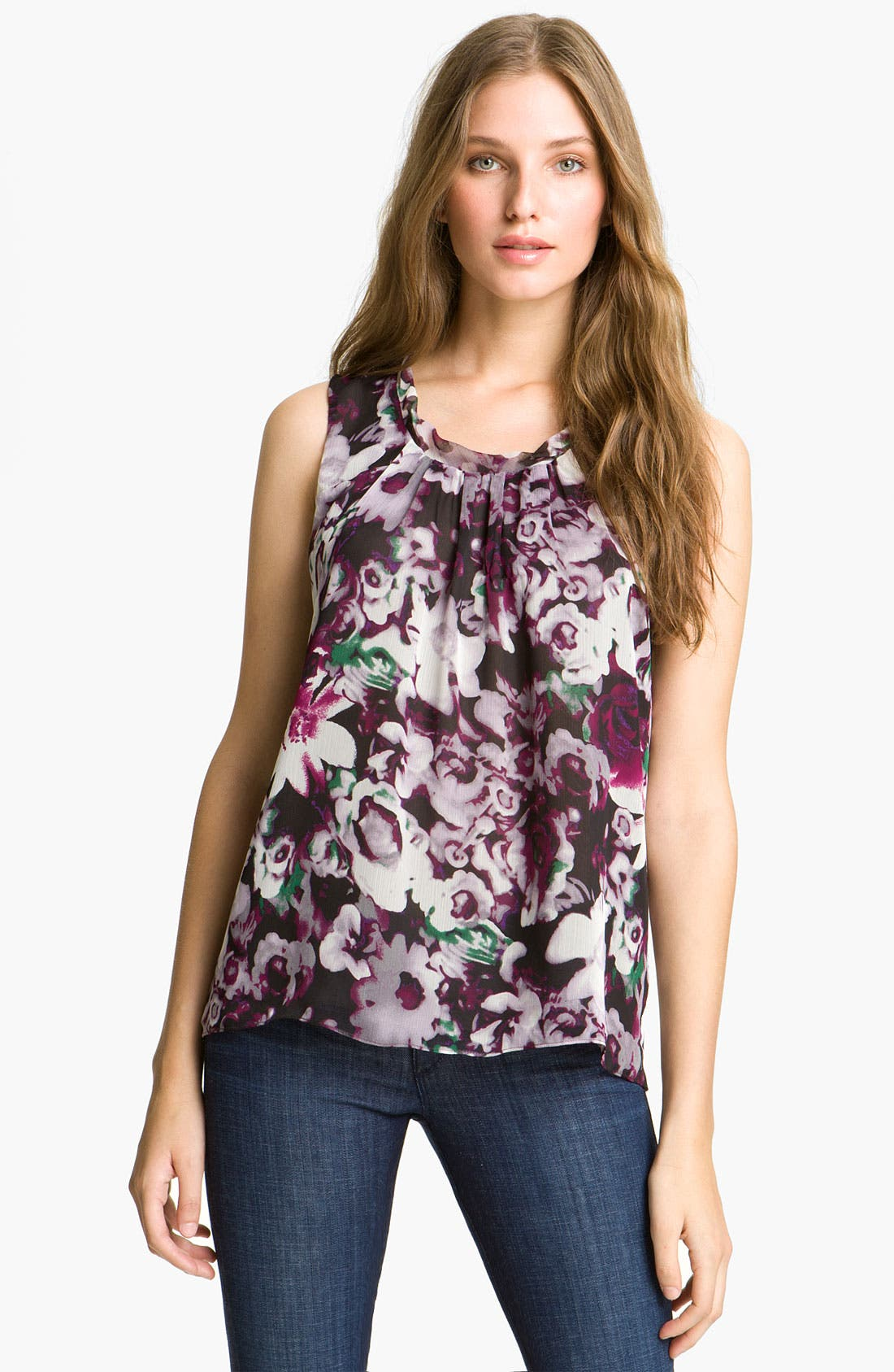 Alternate Image 1 Selected - Mcginn 'Jennifer' Floral Print Tank