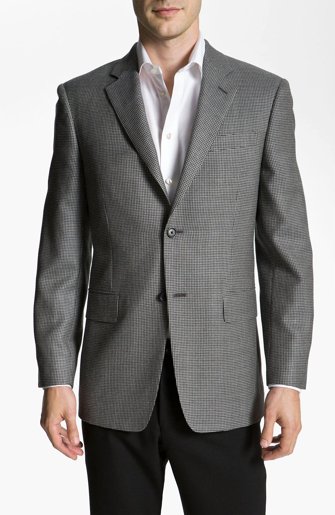 Alternate Image 1 Selected - John W. Nordstrom® Houndstooth Sportcoat