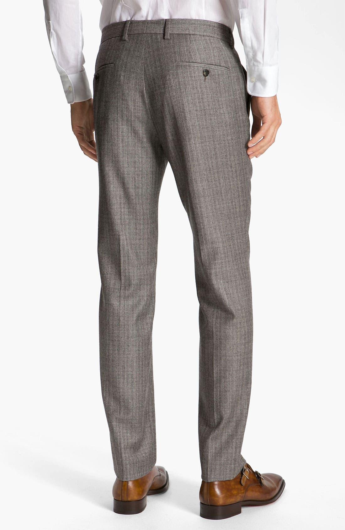 Alternate Image 5  - BOSS Black 'Hold Genius' Trim Fit Plaid Suit