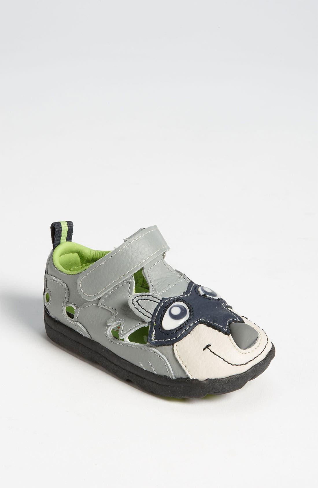 Alternate Image 1 Selected - Zooligans™ 'Raccoon' Sport Sandal (Baby, Walker & Toddler)
