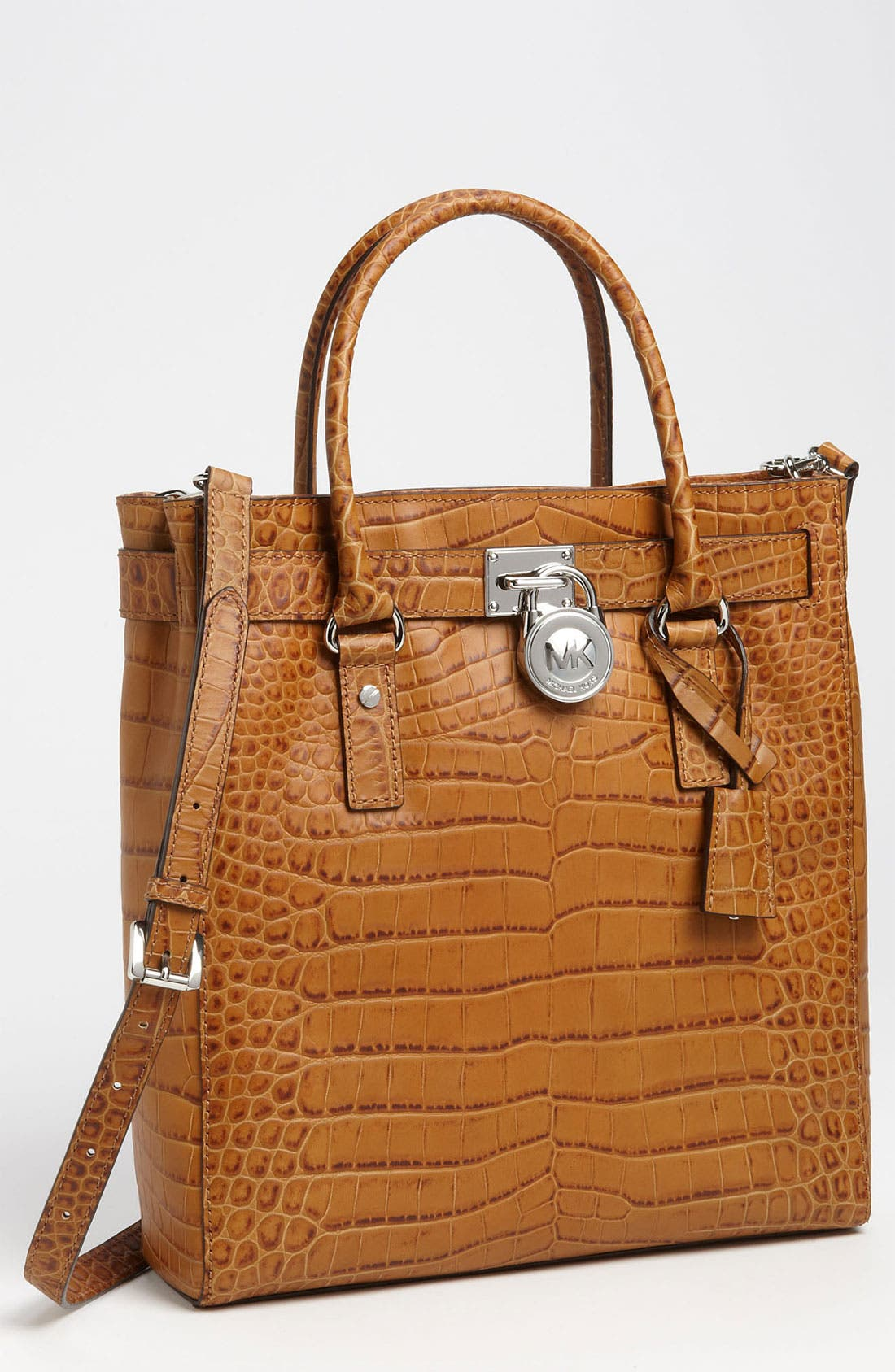 Alternate Image 1 Selected - MICHAEL Michael Kors 'Hamilton' Leather Tote