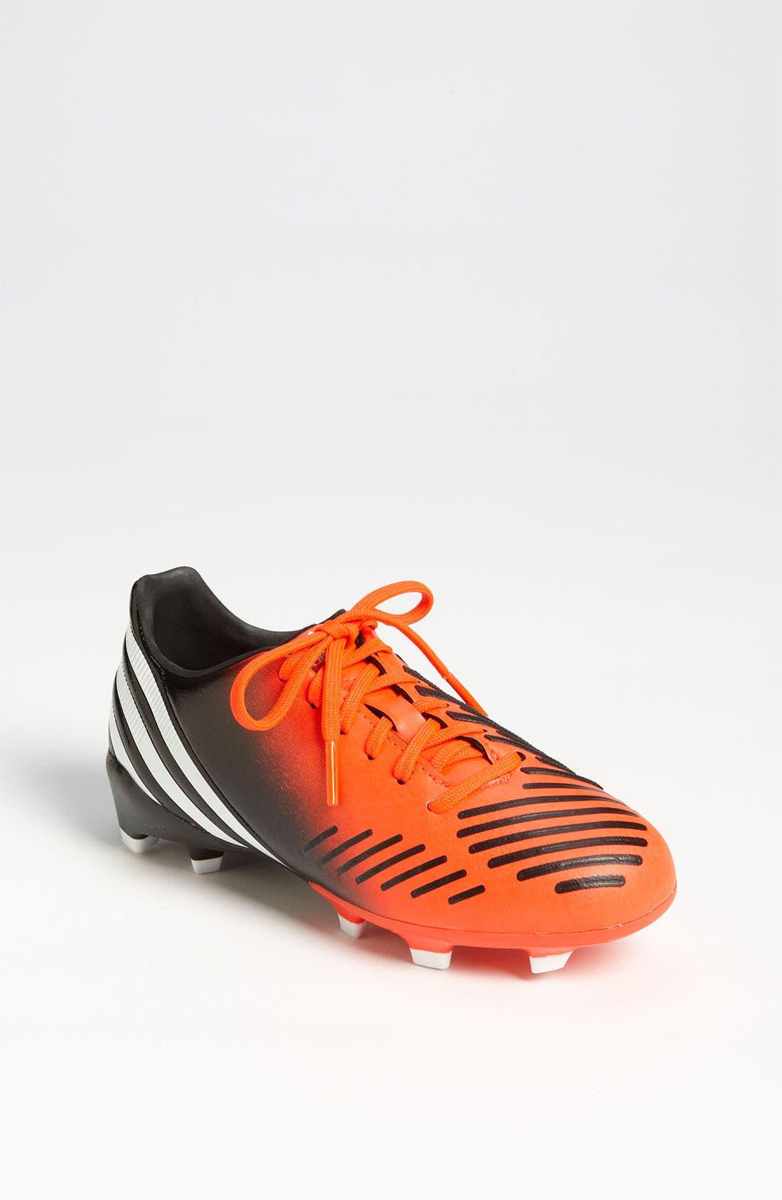 Alternate Image 1 Selected - adidas 'Predator Absolado LX TRX FG' Soccer Cleats (Toddler, Little Kid & Big Kid)