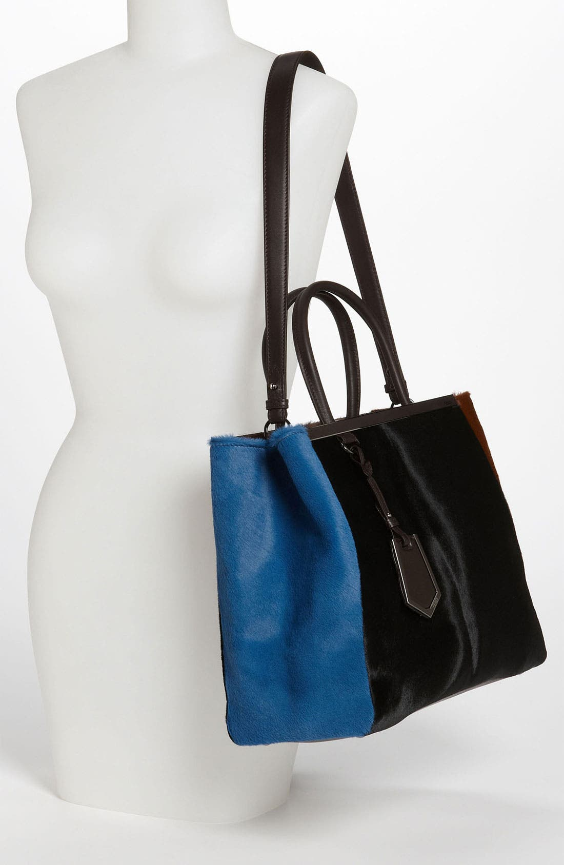 Alternate Image 2  - Fendi 'Medium 2Jours' Calf Hair Shopper