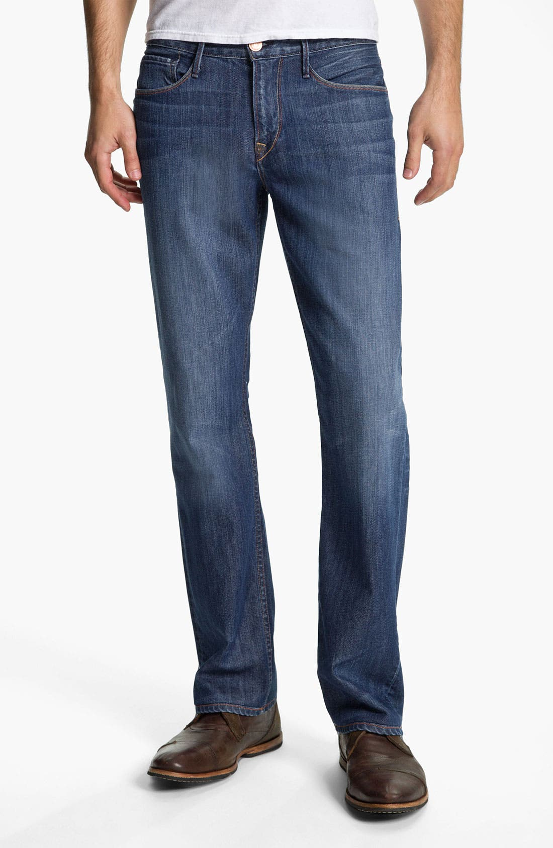 Alternate Image 1 Selected - Earnest Sewn 'Dexter' Relaxed Leg Jeans (Burton)