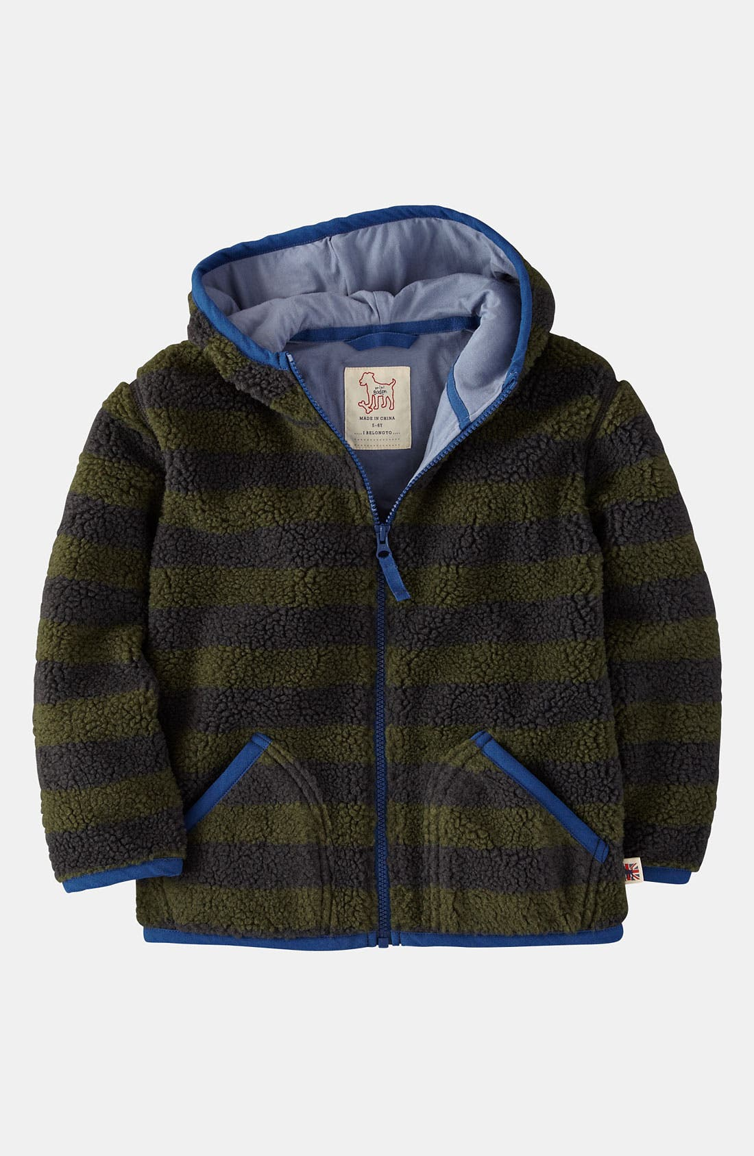 Main Image - Mini Boden Hoodie (Toddler)