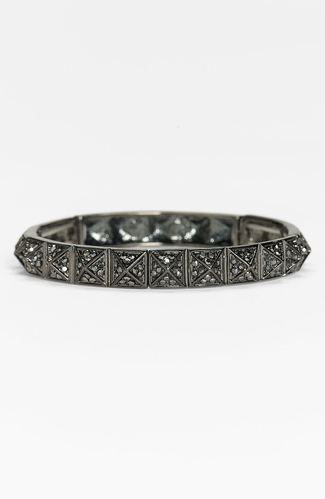 Alternate Image 1 Selected - Stephan & Co. Rhinestone Pyramid Bracelet
