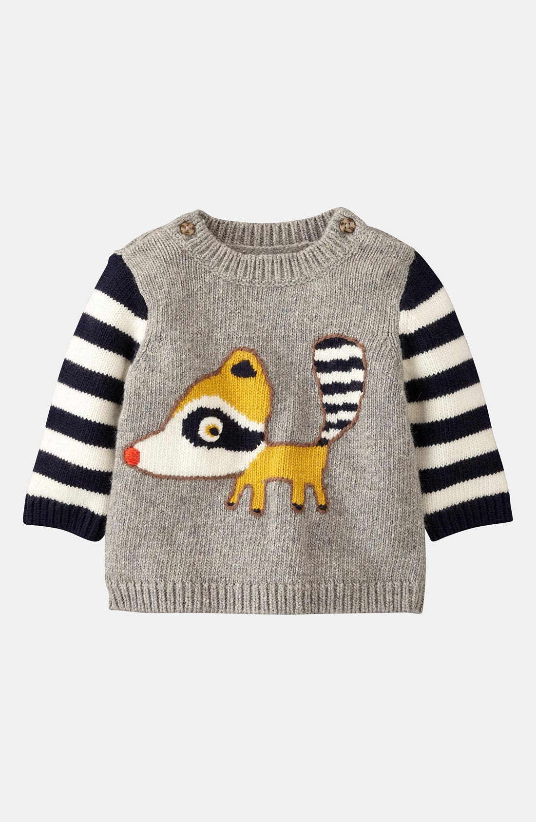 Main Image - Mini Boden 'Logo' Sweater (Infant)