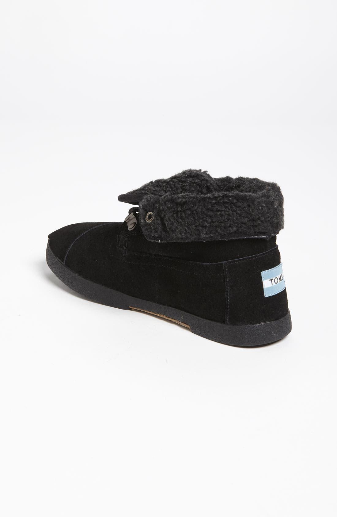 Alternate Image 2  - TOMS 'Botas' Fleece Boot (Women)