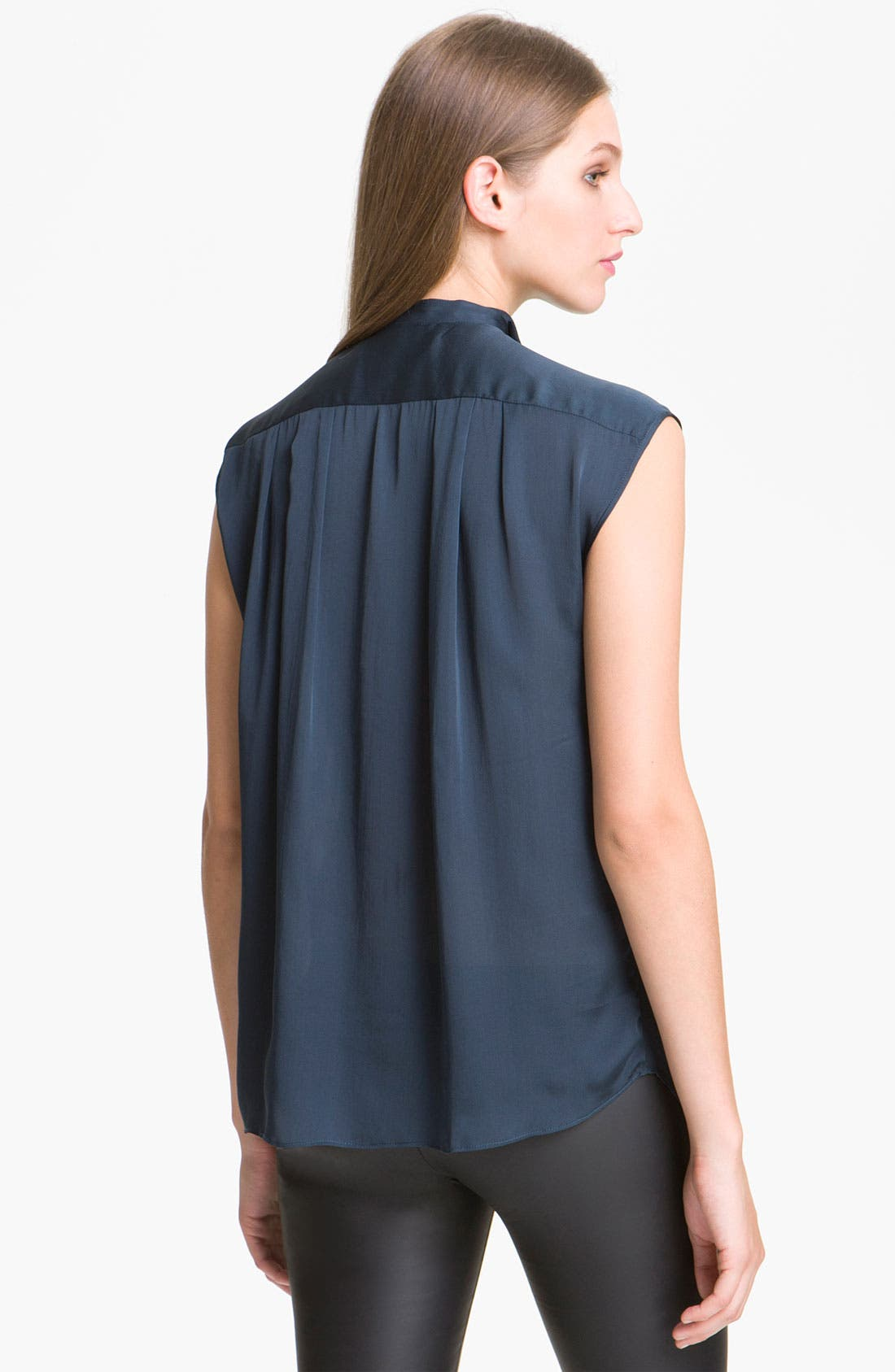 Alternate Image 2  - Theyskens' Theory 'Braque Fayl' Silk Blouse