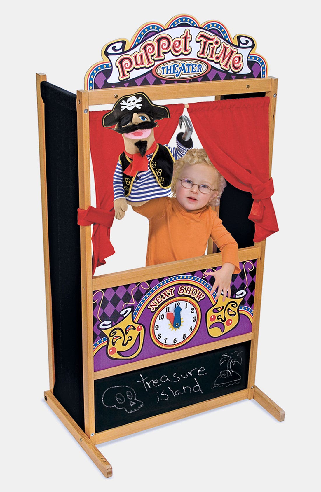 Alternate Image 1 Selected - Melissa & Doug 'Puppet Time' Theater (Online Only)