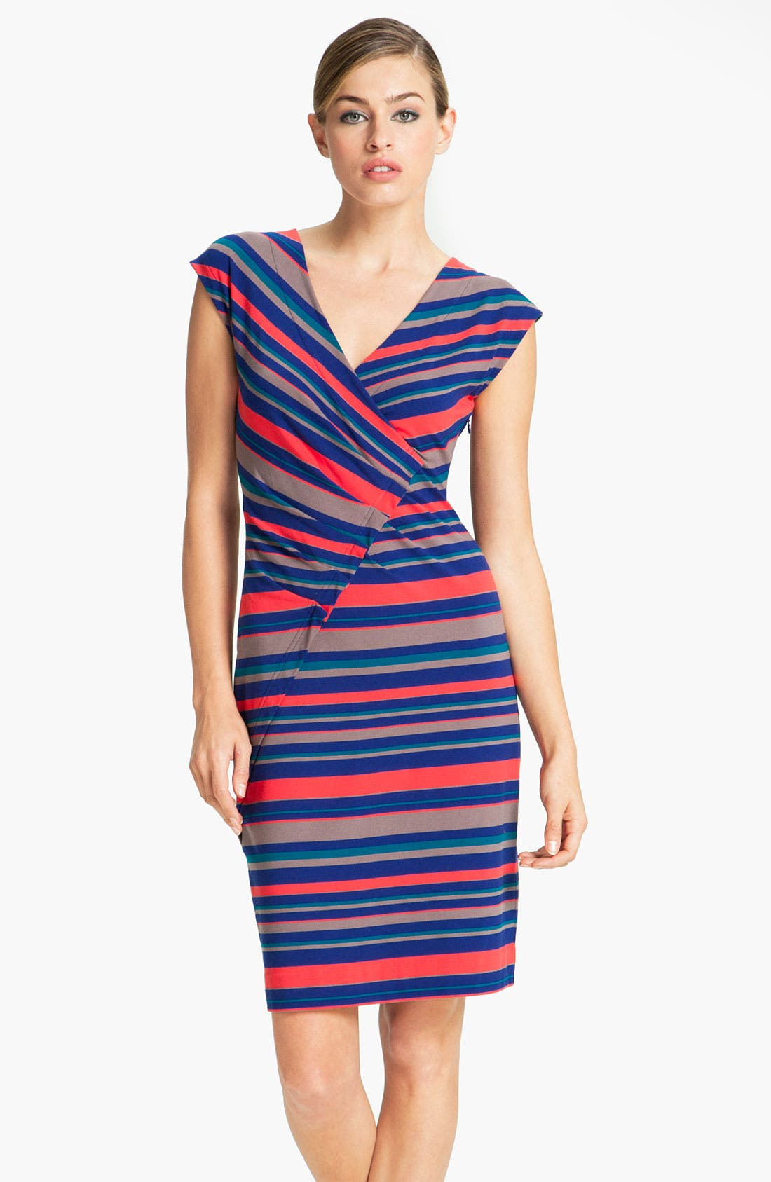 Alternate Image 1 Selected - MARC BY MARC JACOBS 'Christina' Stripe Dress