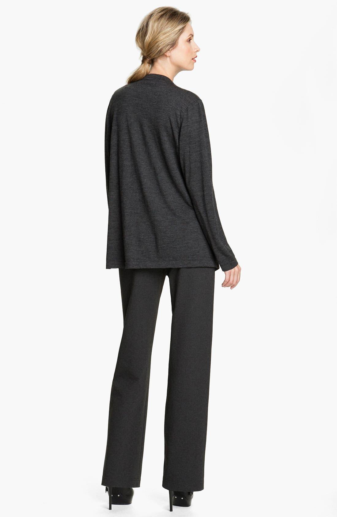 Alternate Image 5  - Lafayette 148 New York Straight Leg Punto Milano Pants