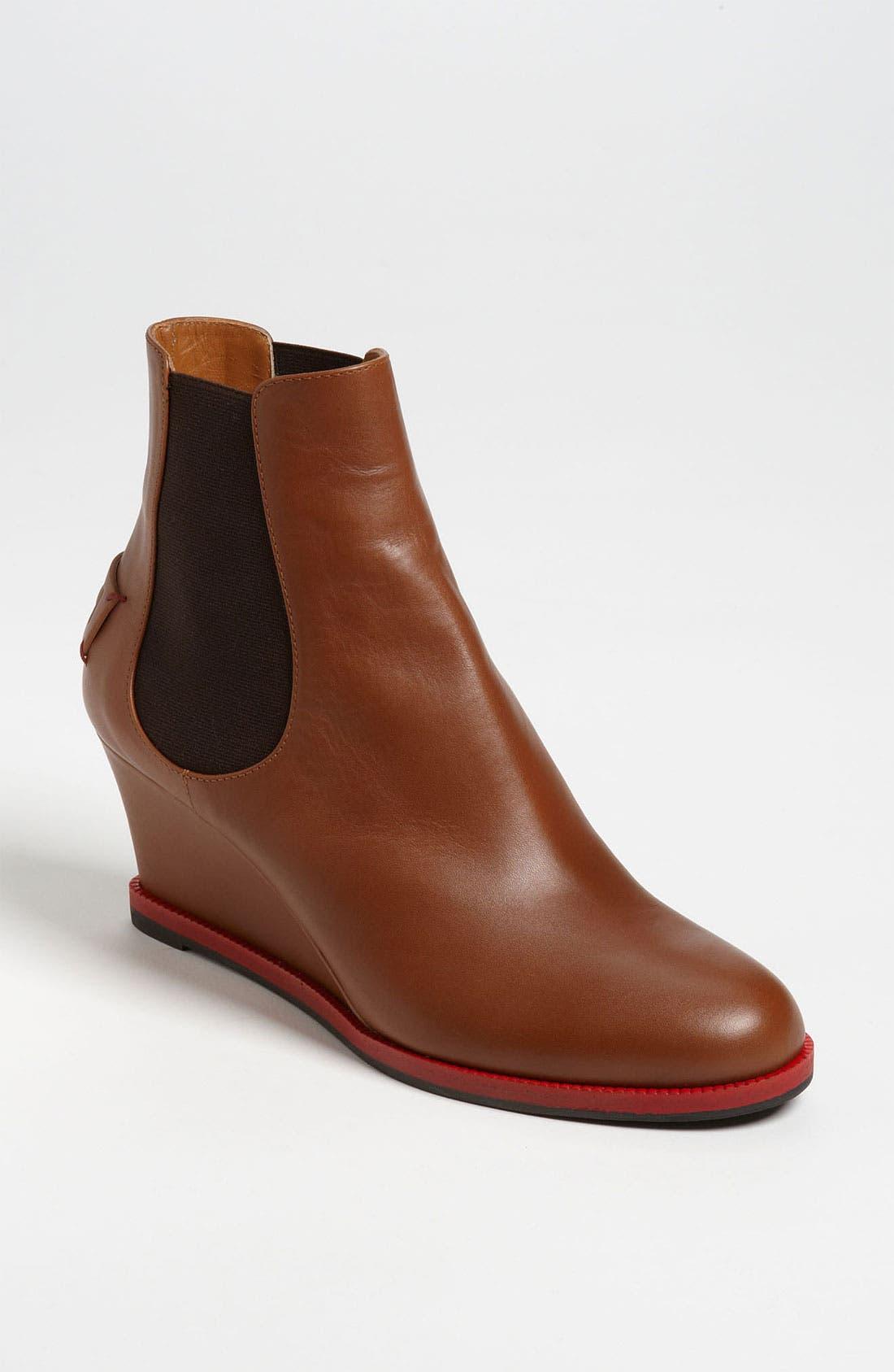 Main Image - Fendi Gored Wedge Ankle Boot