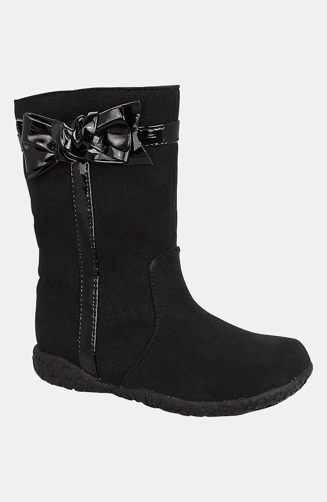 'Rosabel' Boot,                         Main,                         color, Black/ Black