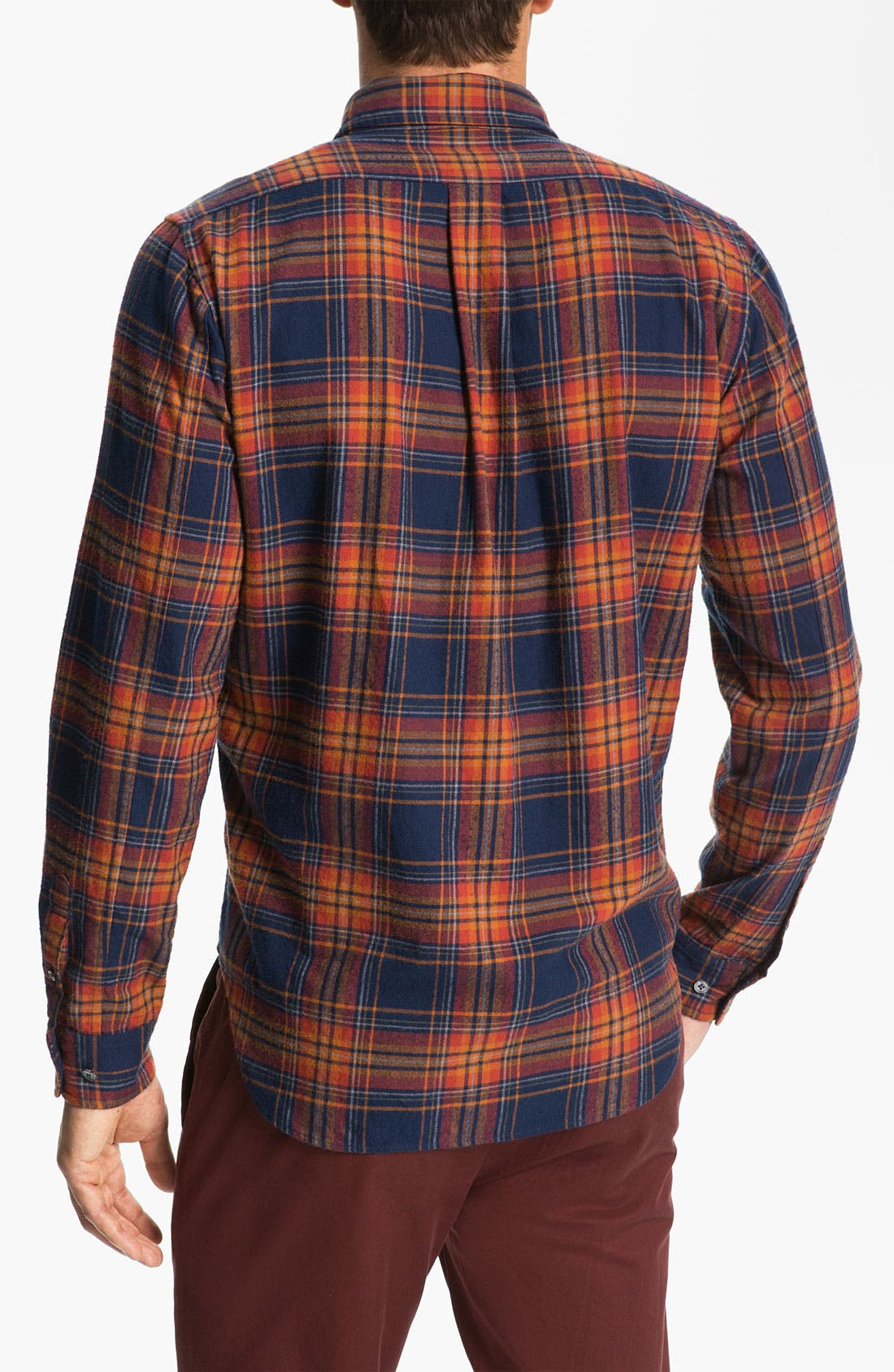 Alternate Image 2  - MARC BY MARC JACOBS 'Mikhail' Cotton Flannel Shirt