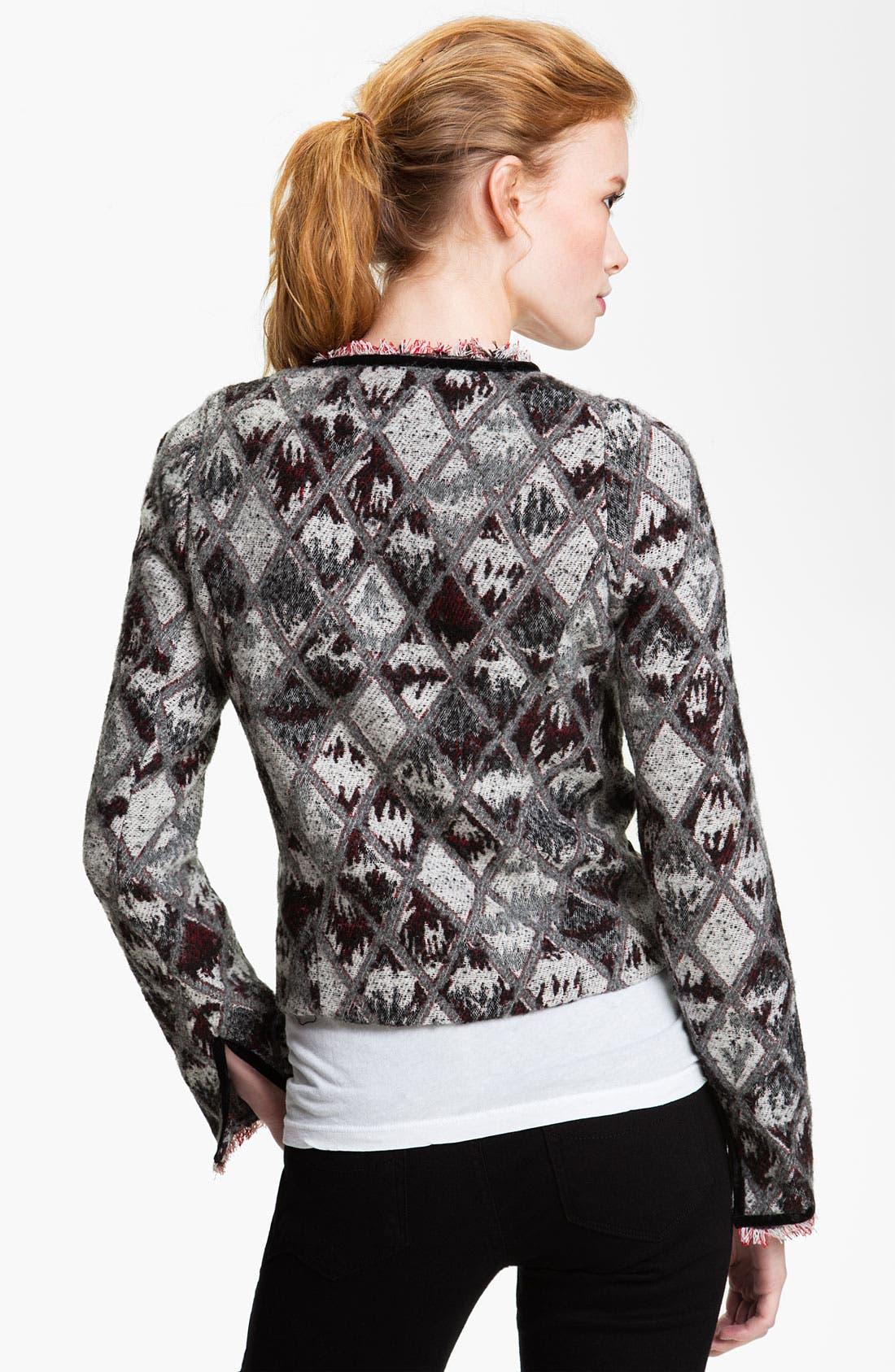 Alternate Image 2  - Maison Scotch Argyle Jacket