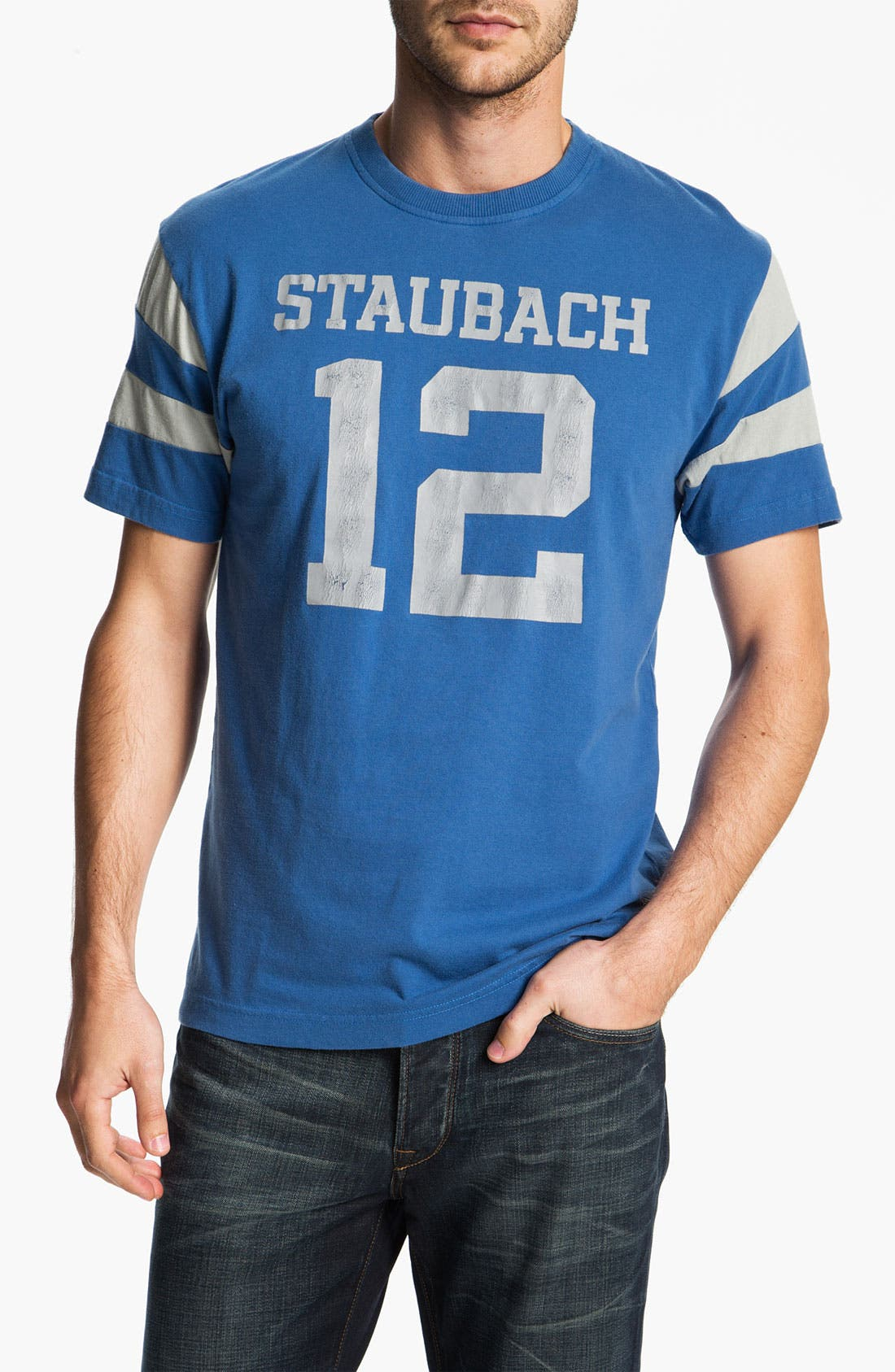 Alternate Image 1 Selected - Red Jacket 'Roger Staubach - Nickel' T-Shirt