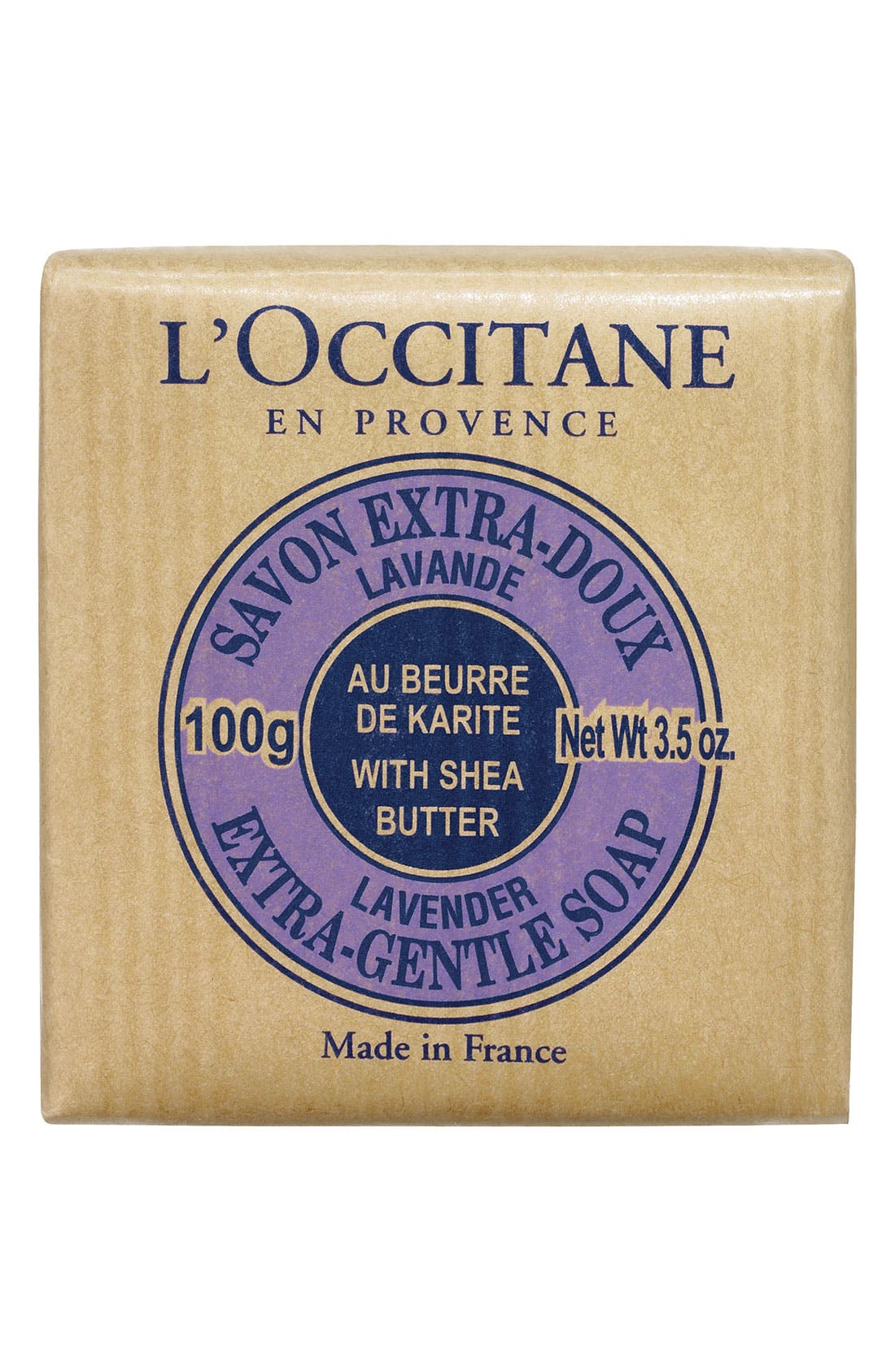 L'Occitane Lavender Shea Soap - Travel Size