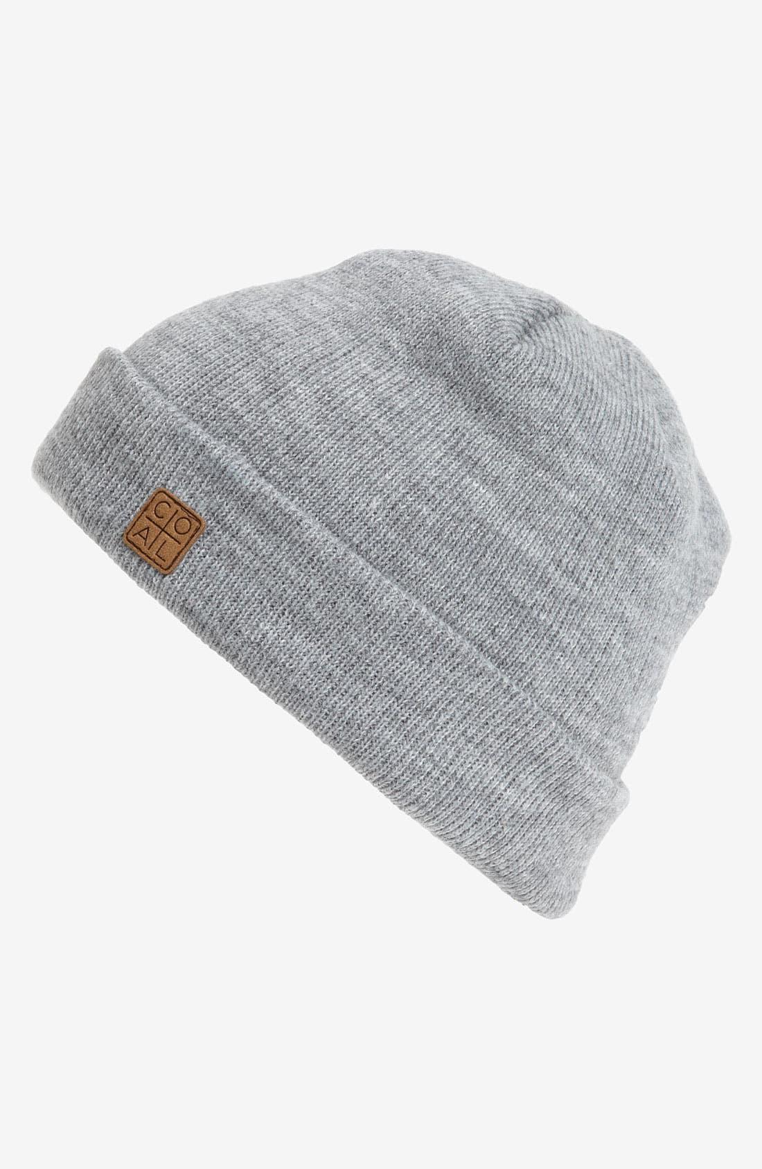 Main Image - Coal 'Harbor' Knit Cap