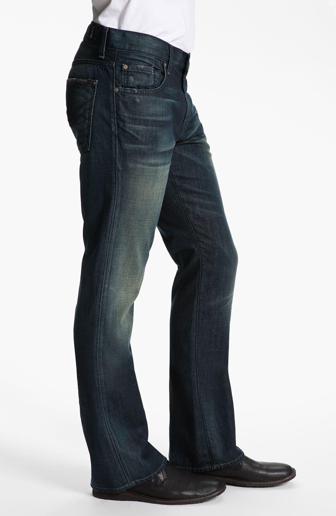 Alternate Image 3  - 7 For All Mankind® 'Brett' Bootcut Jeans (Cedar Street)