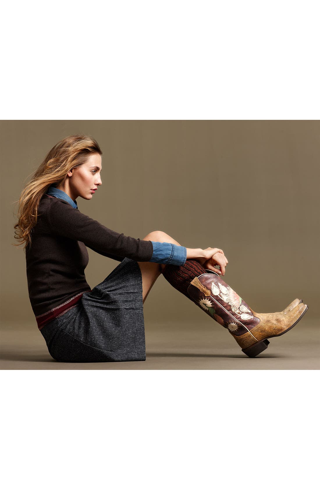 Alternate Image 6  - Ariat 'Mystic Feathers' Boot