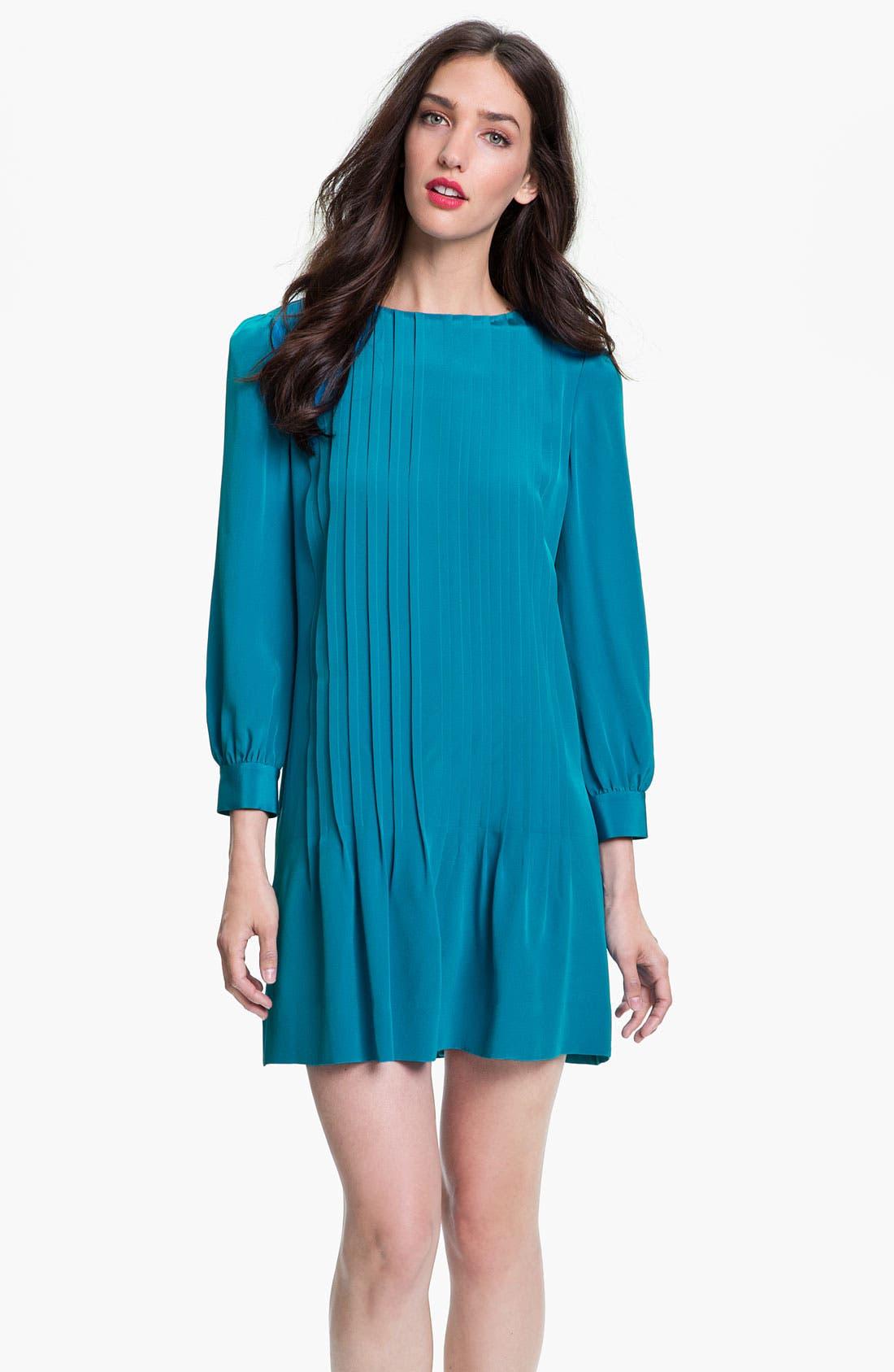 Main Image - kate spade new york 'arden' silk shift dress