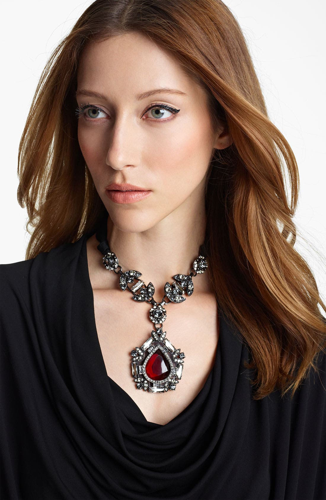 Alternate Image 1 Selected - Lanvin Small Pendant Necklace