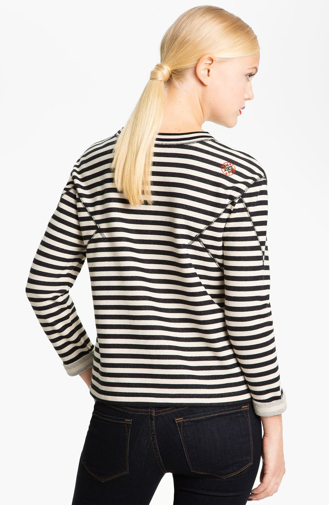 Alternate Image 2  - MARC BY MARC JACOBS 'Ben' Stripe Sweatshirt