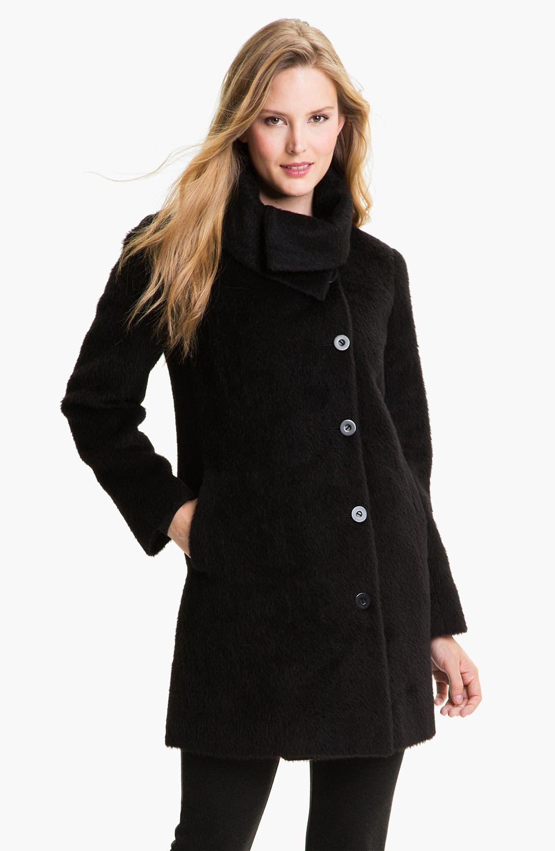 Alternate Image 1 Selected - Eileen Fisher Suri Alpaca Coat