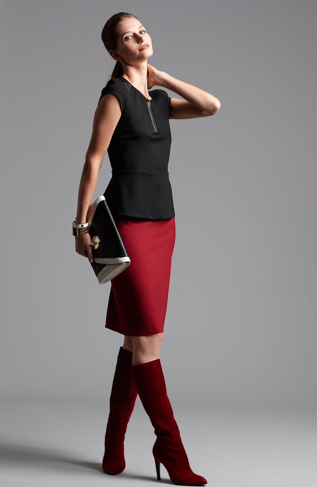 Alternate Image 6  - Classiques Entier® 'Piper Weave' Skirt