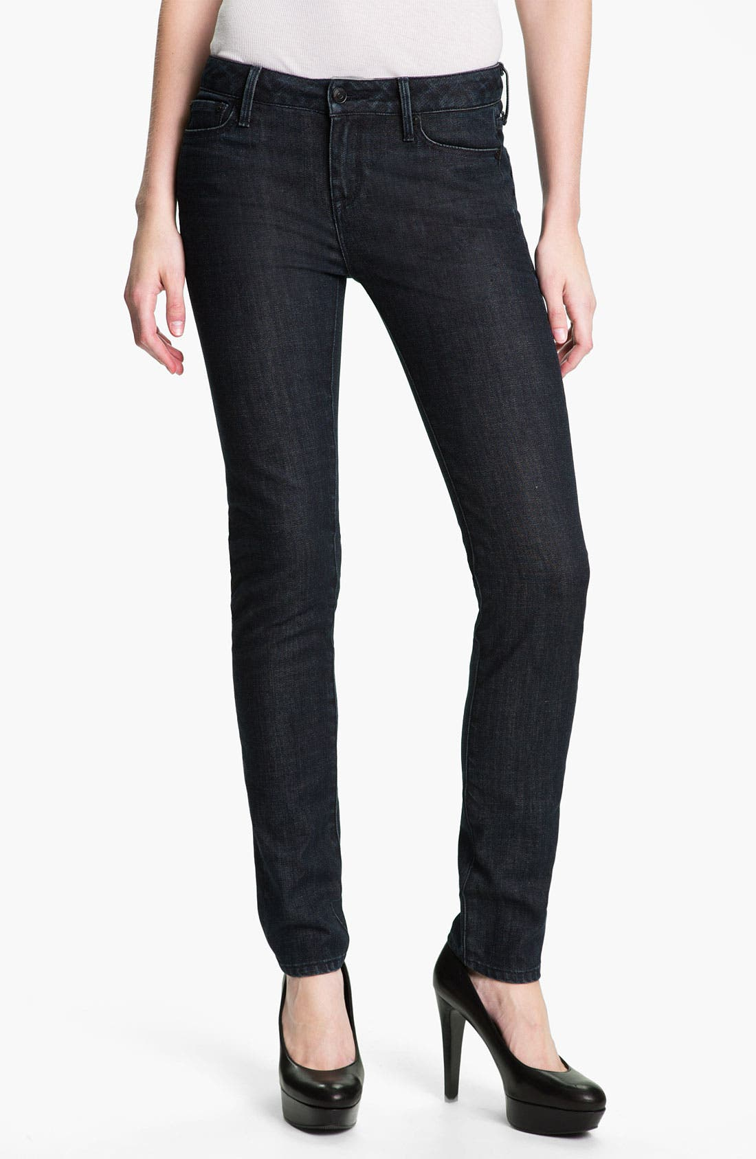 Alternate Image 1 Selected - Vince Stretch Skinny Jeans (Dark Vintage)