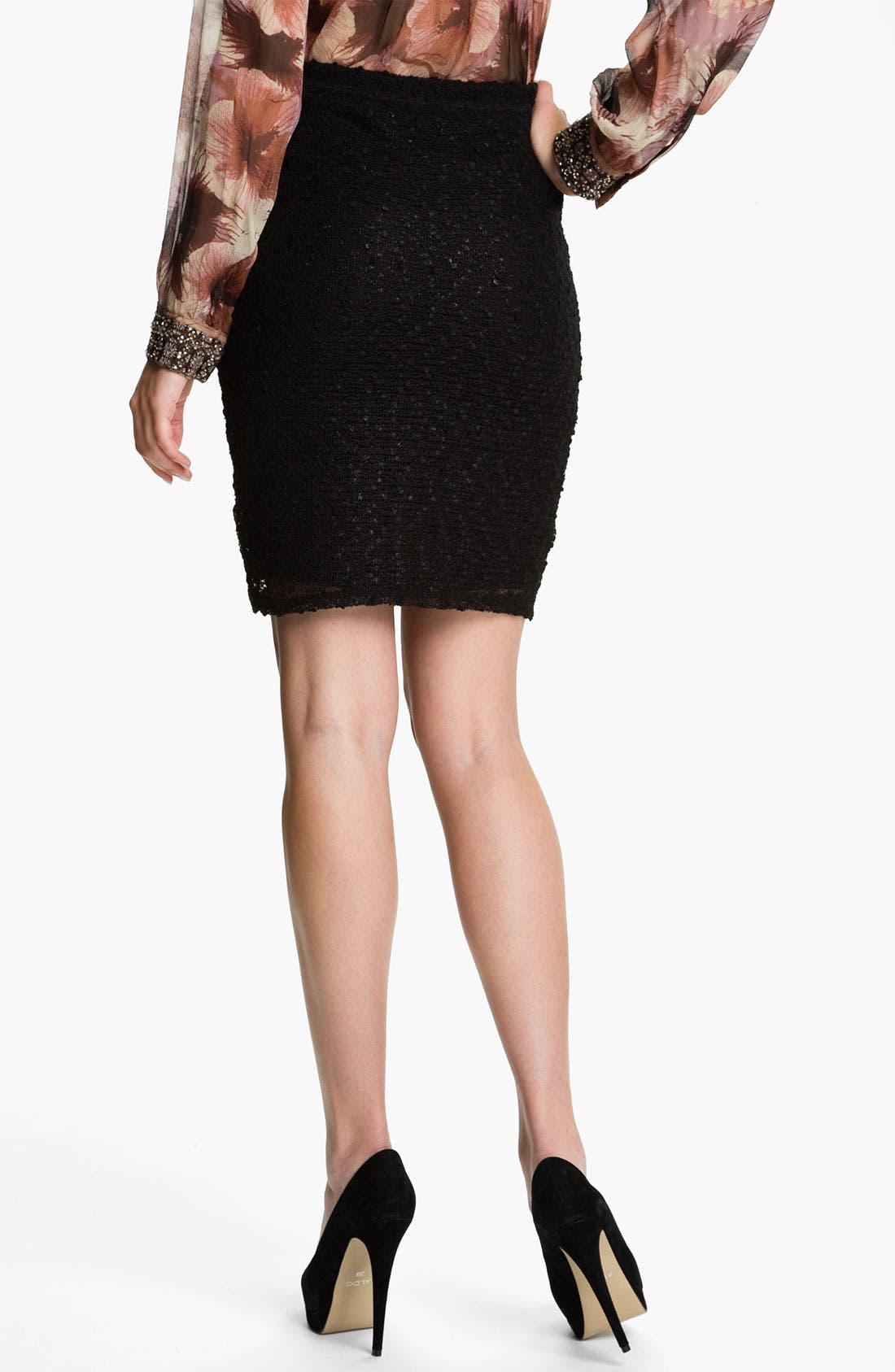 Alternate Image 2  - Sanctuary Bouclé Knit Pencil Skirt