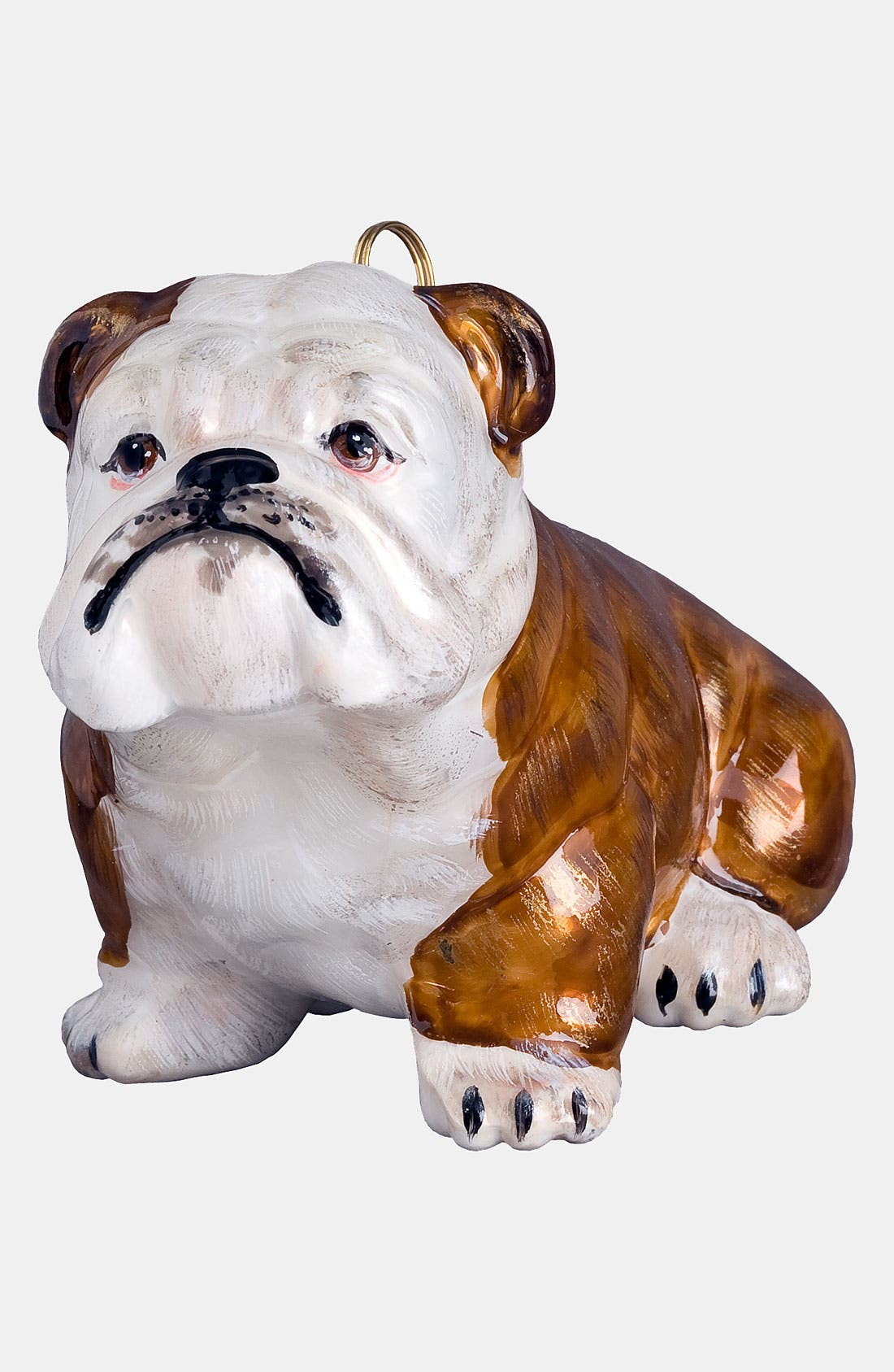 Alternate Image 1 Selected - Joy to the World Collectibles 'Brown Bulldog' Ornament