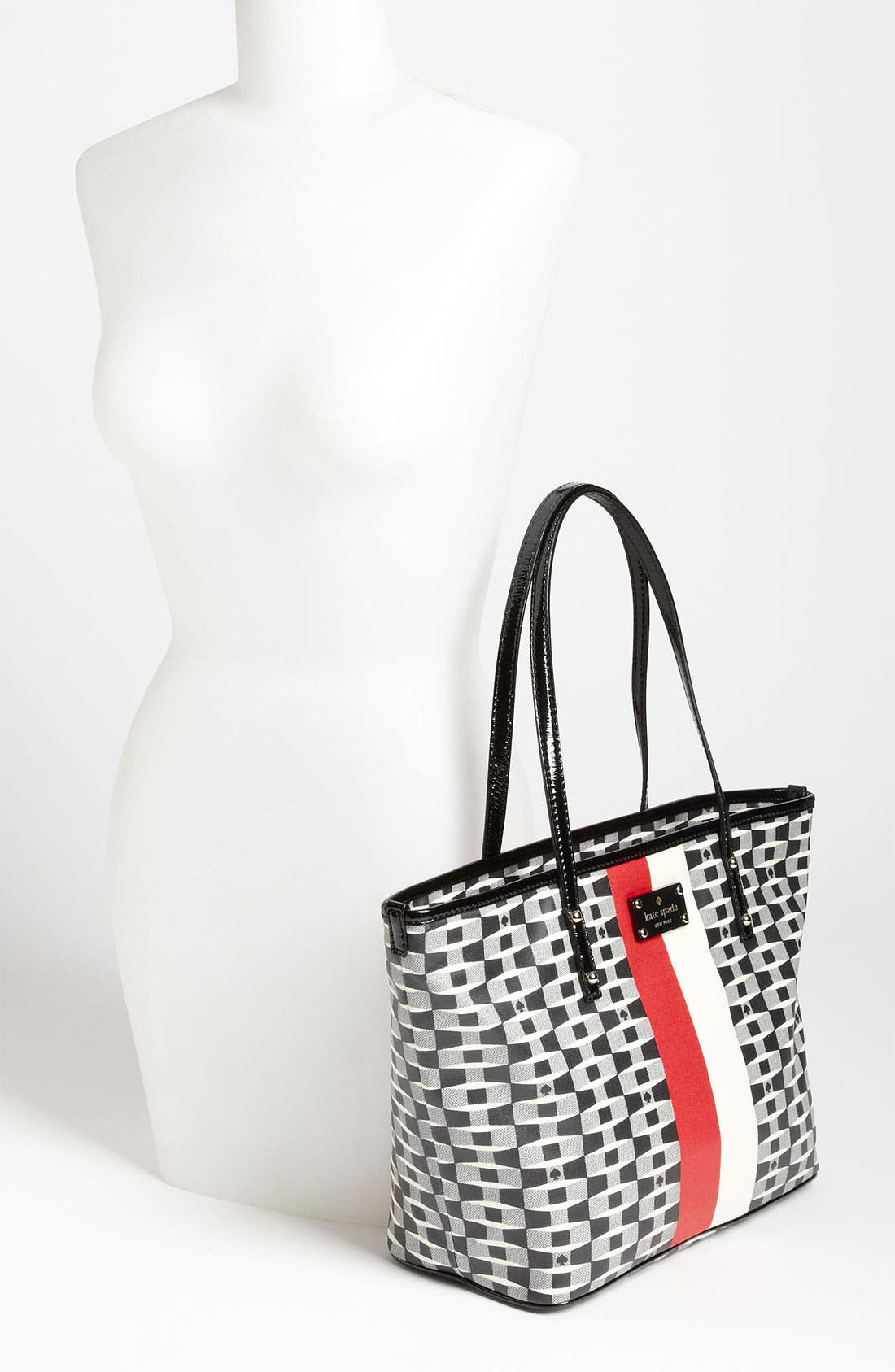 Alternate Image 2  - kate spade new york 'signature spade harmony - small' tote