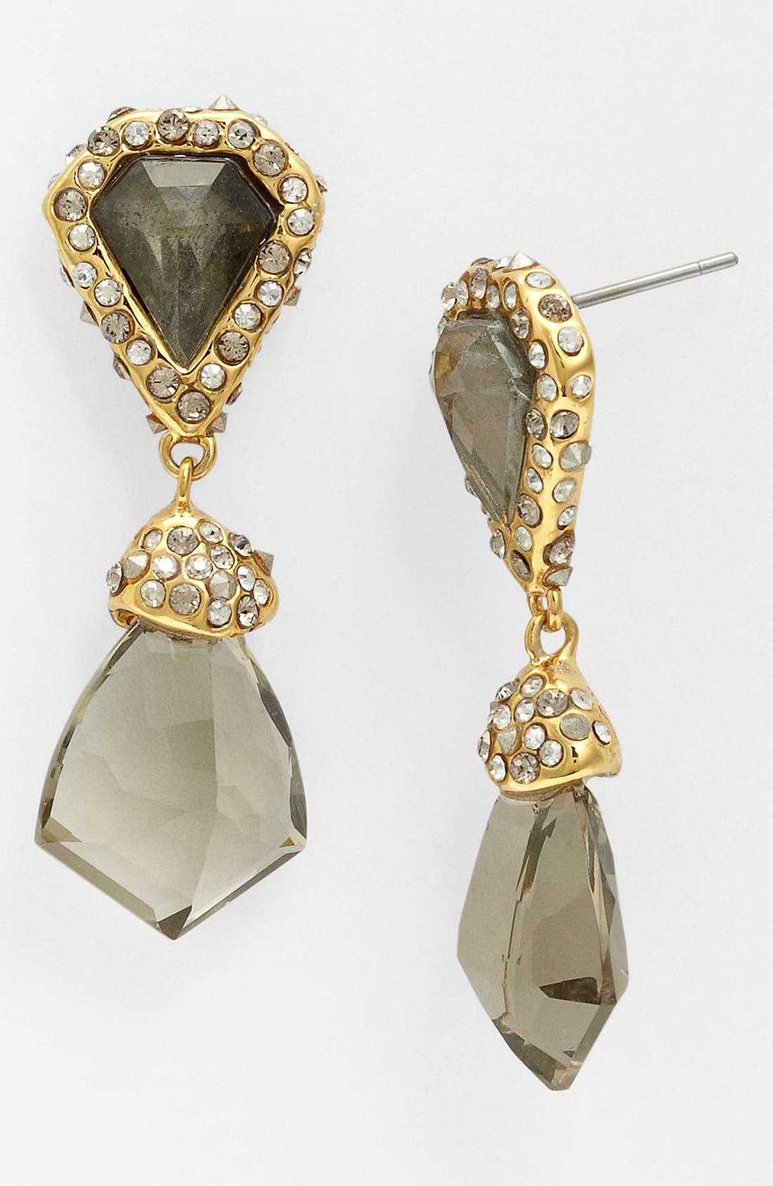 Alternate Image 1 Selected - Alexis Bittar 'Miss Havisham - Bel Air' Shield Drop Earrings