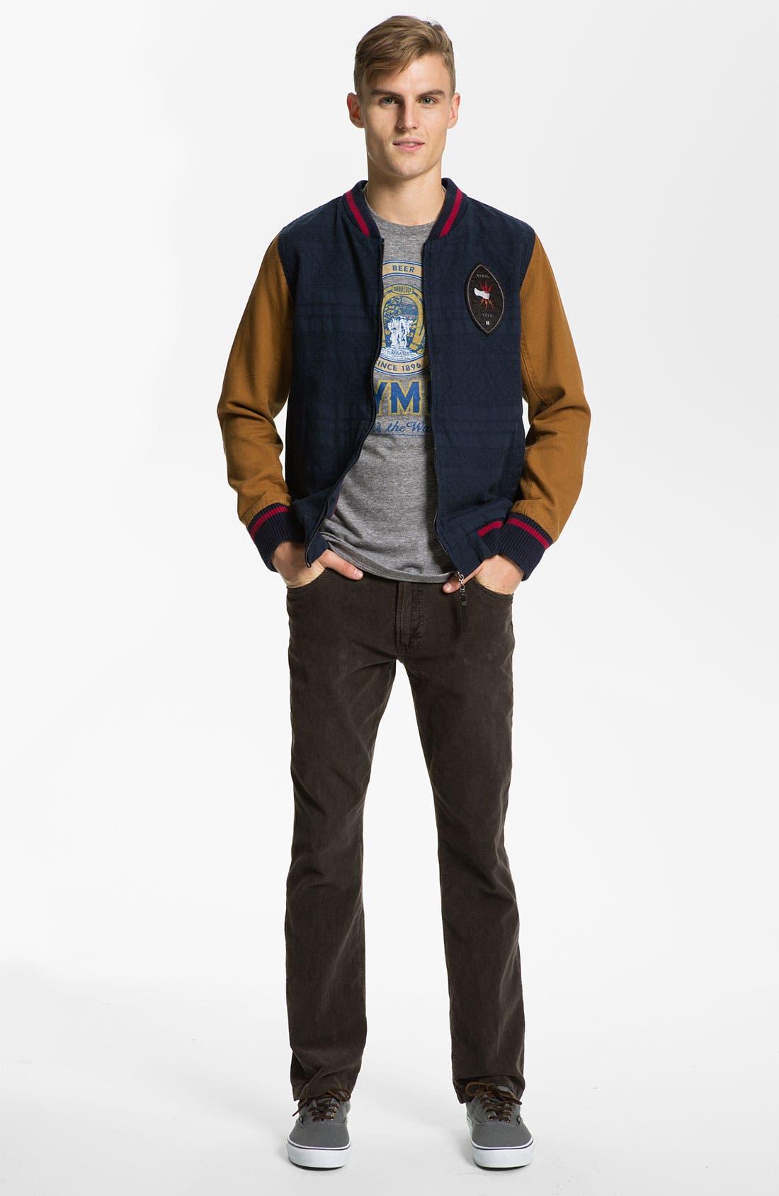 Alternate Image 3  - Just A Cheap Shirt 'Adam' Straight Leg Corduroy Pants