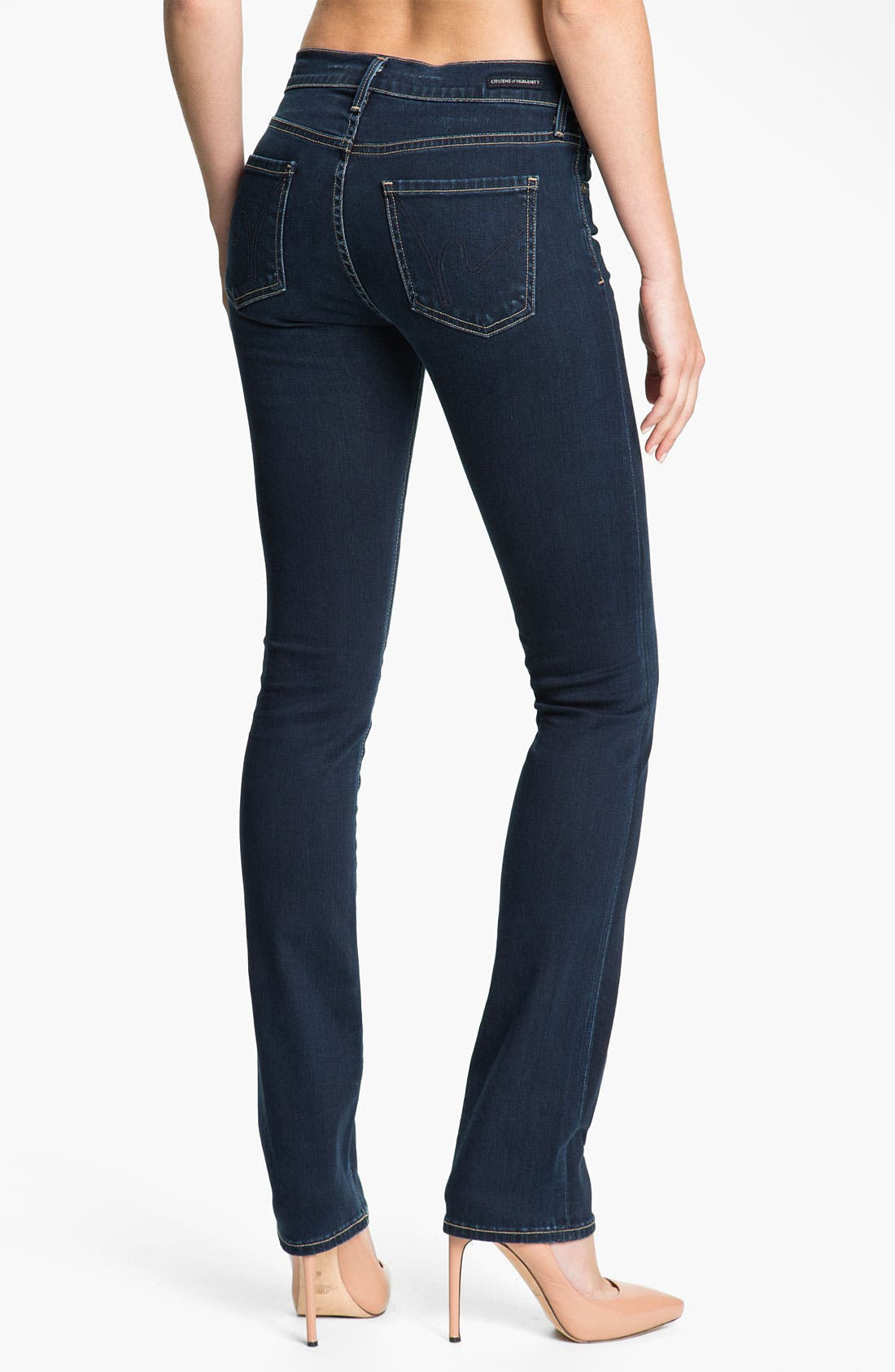 Alternate Image 2  - Citizens of Humanity 'Elson' Straight Leg Jeans (Starry)