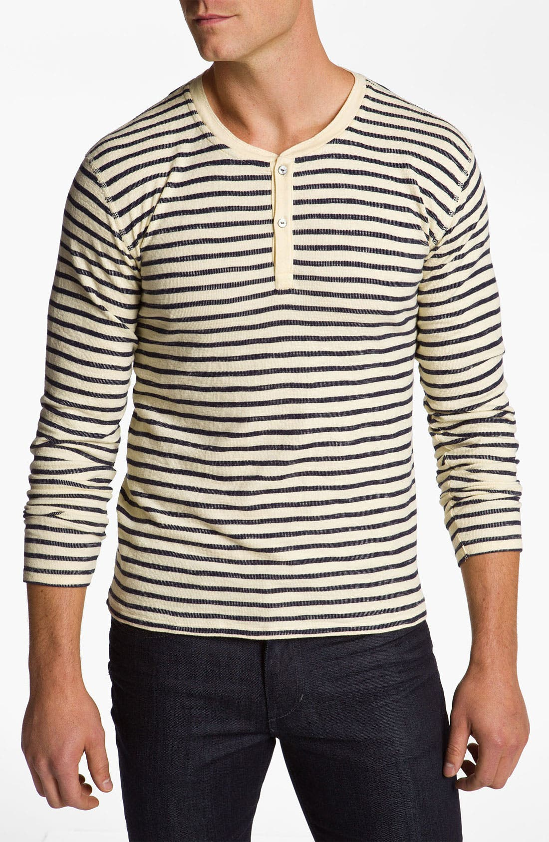 Alternate Image 1 Selected - Gant Rugger 'The Breton' Henley